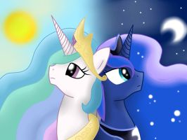 Sisters of The Sky by pikashoe90