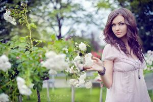 Wild roses IV by onechristina