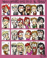MCR - Gee likes to change, fans - not by dragon-flies