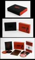 Hellboy DVD box set design by AKADoom