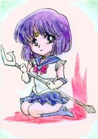 ACEO: Chibi Sailor Saturn by Yuko-Rann