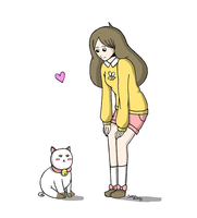 Bee and Puppycat by Sioban-Mckey