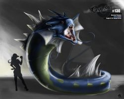 Gyarados by latent-ookami