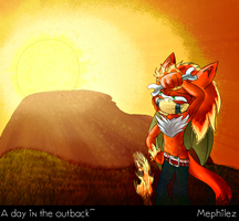 A day in the outback by Mephilez