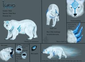 Icarus Ref- DON'T fave by TwilitTiger