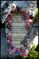 French Key Shrine by quidditchmom