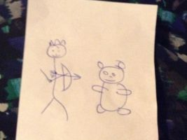 Lol look what my mom drew for by DipsyNoodles