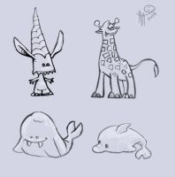 Creatures by Lelpel