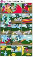 MLP FiM: Flying Problems: Page 2 by DarthGoldstar710