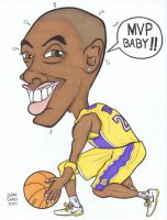 Kobe Bryant by tygertailzz