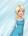 ice queen by Lantaniel
