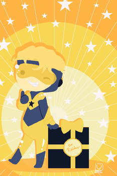 Booster Gold by Misandrie
