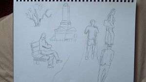 Frodsham Hill Sketches by PaulDS89