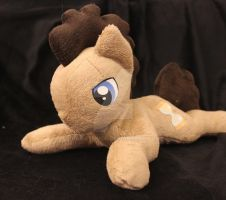 Doctor Whooves beanie style plushie by rainetomoe