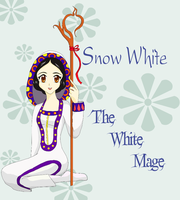 The White Mage- Snow White by Upon-a-RemStar