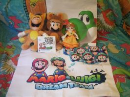 Stuff I got from Nintendo World's Dream Team Event by MarioSimpson1