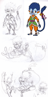 DC - Mico Doodles by TamarinFrog