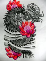 dragon by nirpa