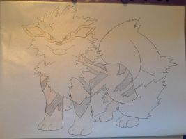 Pokemon - Arcanine by dewildbunbun