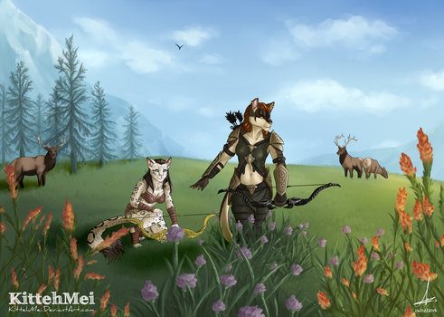 Prowling on the Plains [C] by KittehMei