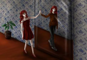Grell - male female by SpacePhoenix