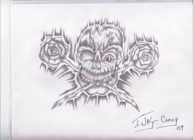 Skulls N Roses by INK-Canoy