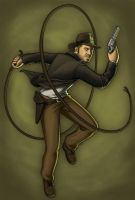 Indiana Jones by Cordania