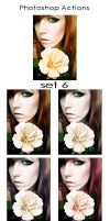 Photoshop Actions - Pack 6 by Lune-Tutorials