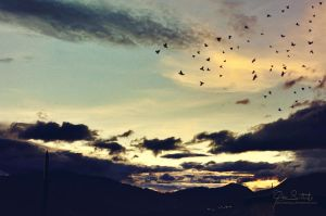 The sky of Medellin by giosolARTE