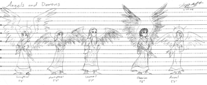 Angels and Demons height chart by ImagenAshyun
