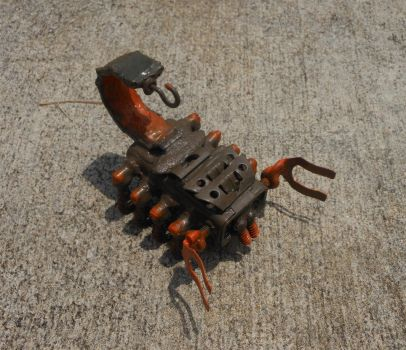 Scrap Scorpion III by lizking10152011