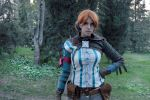 Triss Merigold First Test by Larxenne