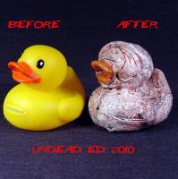 Rot Duck Silent Hill compare by Undead-Art