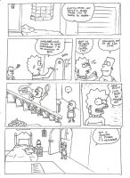 Bart game by SimpsonsTiedLover