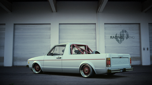 Volkswagen Caddy MK1 (Garage scene) by BuseHase