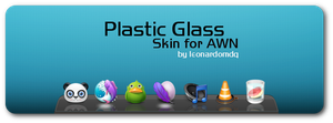 Plastic Glass for AWN by leonardomdq