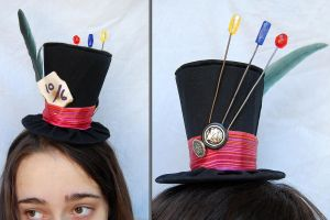 Tiny Top Hat: The Mad Hatter by TinyTopHats