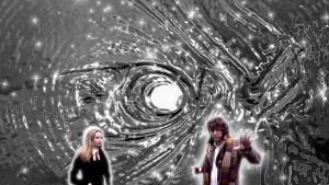 Tom Baker Dr.Who Background by TimeTravelingTardis