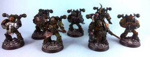 Plague Marine Squad 1 by Punk-Noir