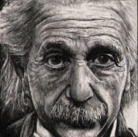 Albert Einstein by silenthero1