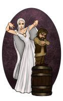 Daenerys and Tyrion by The-Devils-Music