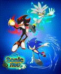 Sonic Trio poster by zavraan