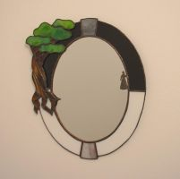 The Arch Mirror by ladyiolanthe