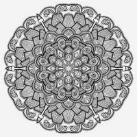 Mandala drawing 21 by Mandala-Jim
