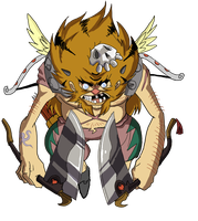 Pirate number 3 Cupid Liger by JazylH