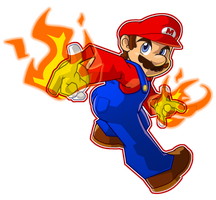 Super Mario by CatchShiro