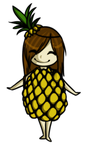 .:Im a happy Holly Pineapple:. by YamiInux