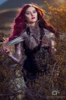Warrior Woman by misspoisoncandy