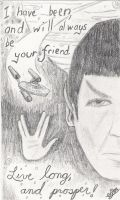 Spock's Farewell by ShadowDragon91