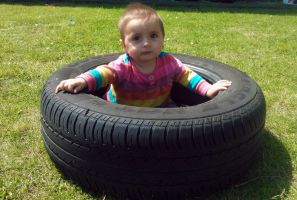 Sit in the tyre by sameera95